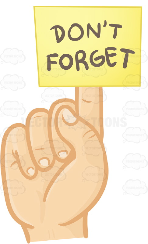 Reminder clipart t forget for free download and use images in.