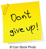 Don't give up Vector Clip Art EPS Images. 26 Don't give up clipart.