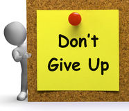 Dont Give Up Clipart.