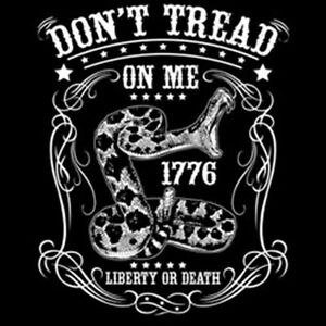Details about Don\'t Tread On Me America Liberty Or Death Snake Crest  Patriotic T.