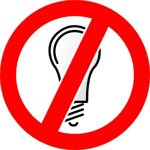 Don T Use Incandescent Bulbs Clip Art at Clker.com.