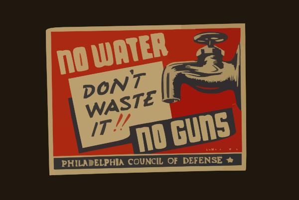 No Water.