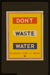 Don T Waste Water Clip Art at Clker.com.