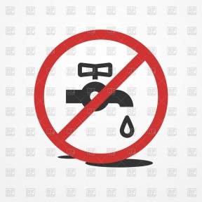 Turn Off Water Clipart.