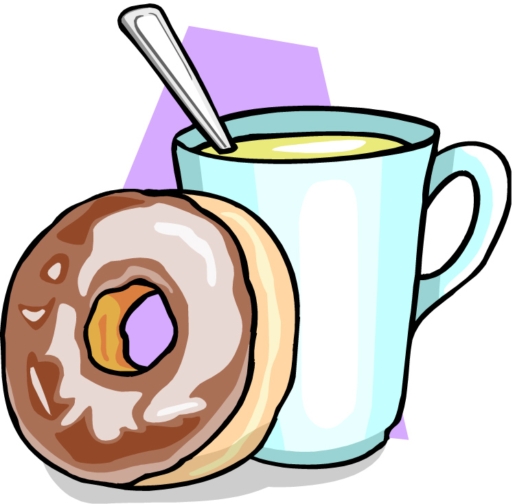 Coffee And Donuts Clipart Free.