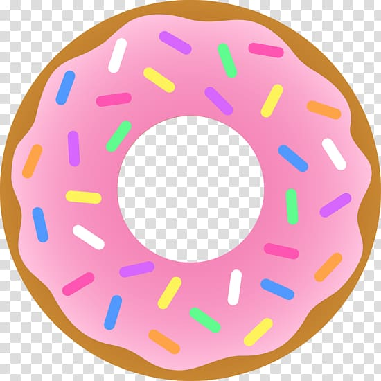 Coffee and doughnuts , Donut transparent background PNG.