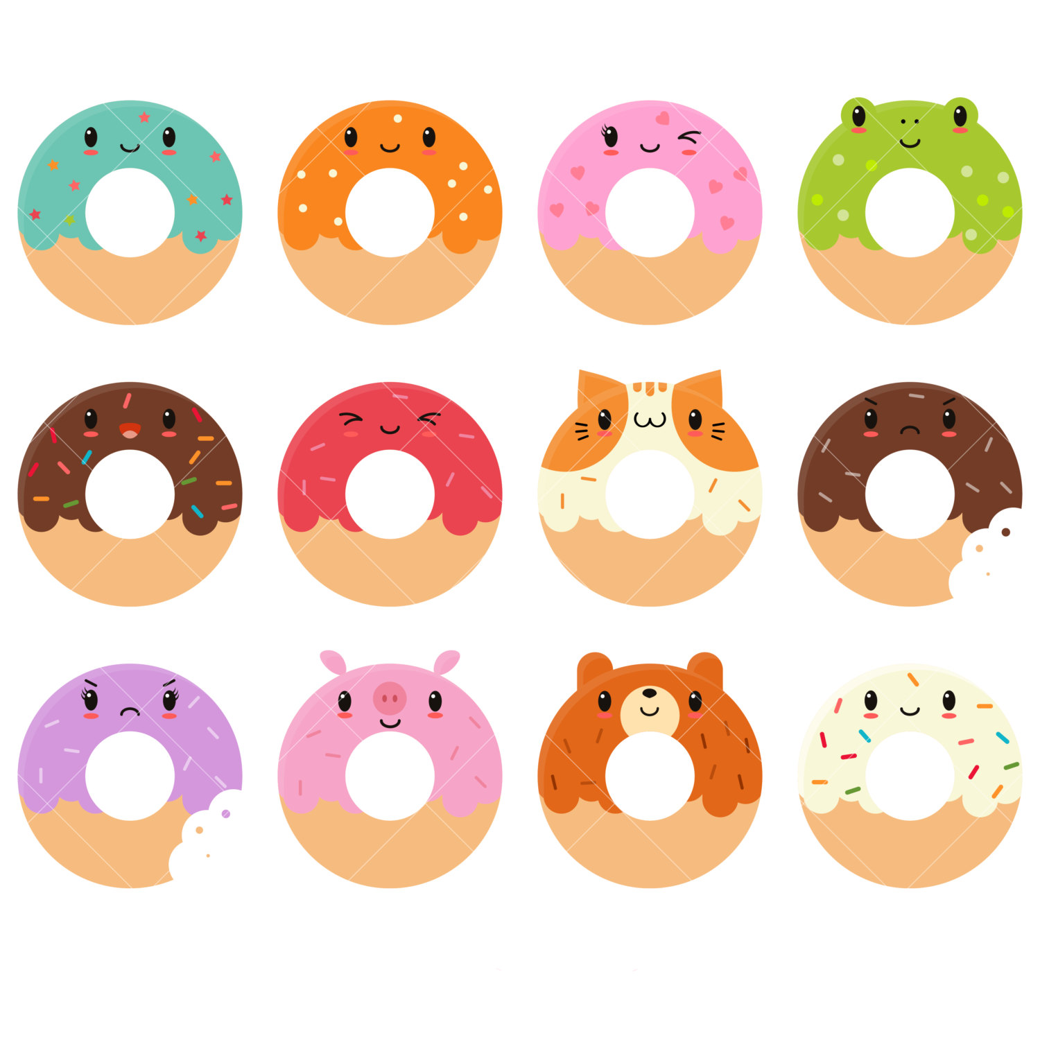 Doughnuts clipart 20 free Cliparts | Download images on ...