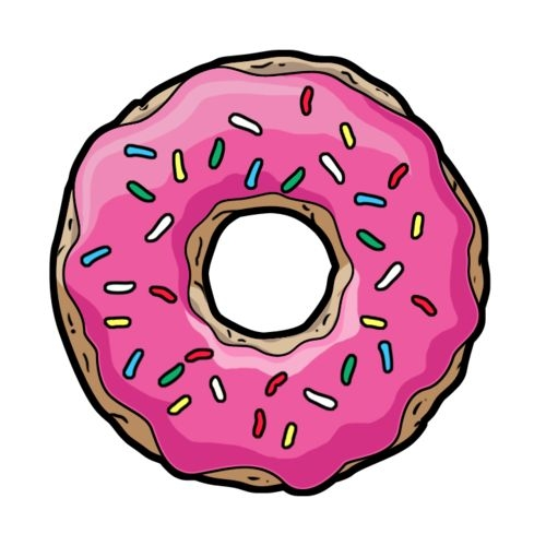 Donut clip art free clipart images.