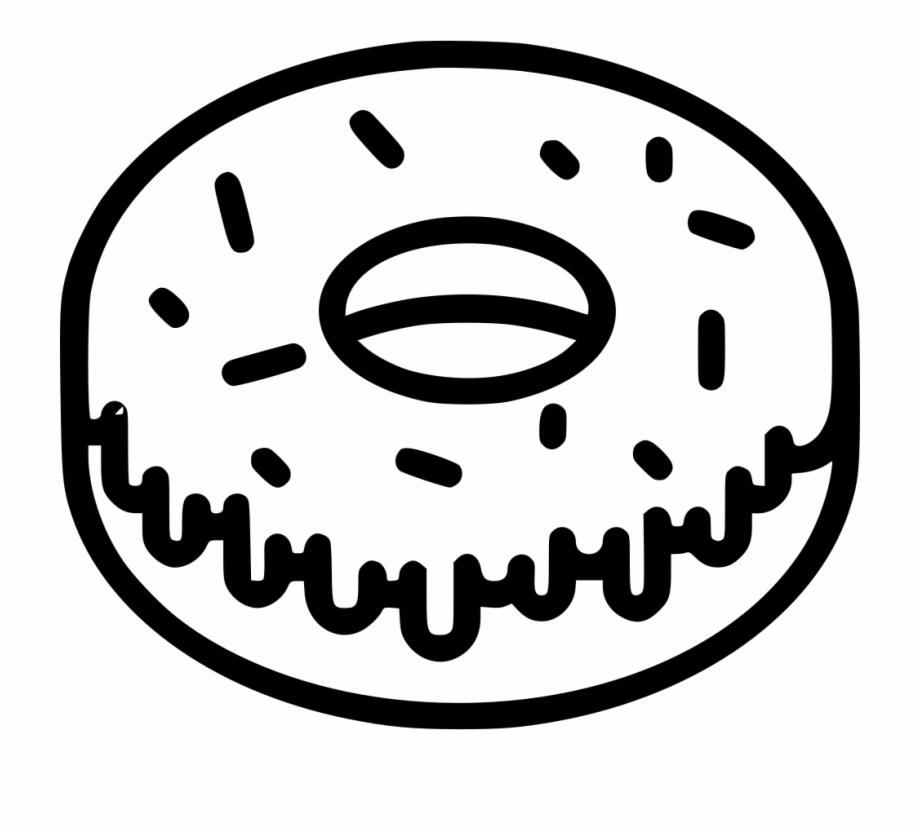 Doughnut Clipart Bitten.