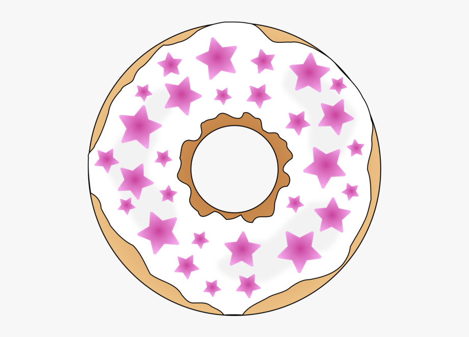 Doughnut Clipart Donut Icing.