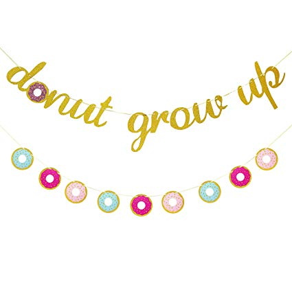 Amazon.com: Donut Grow up Party Supplies.