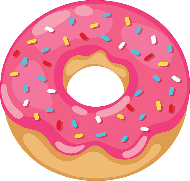 Donuts clipart real donut, Donuts real donut Transparent.
