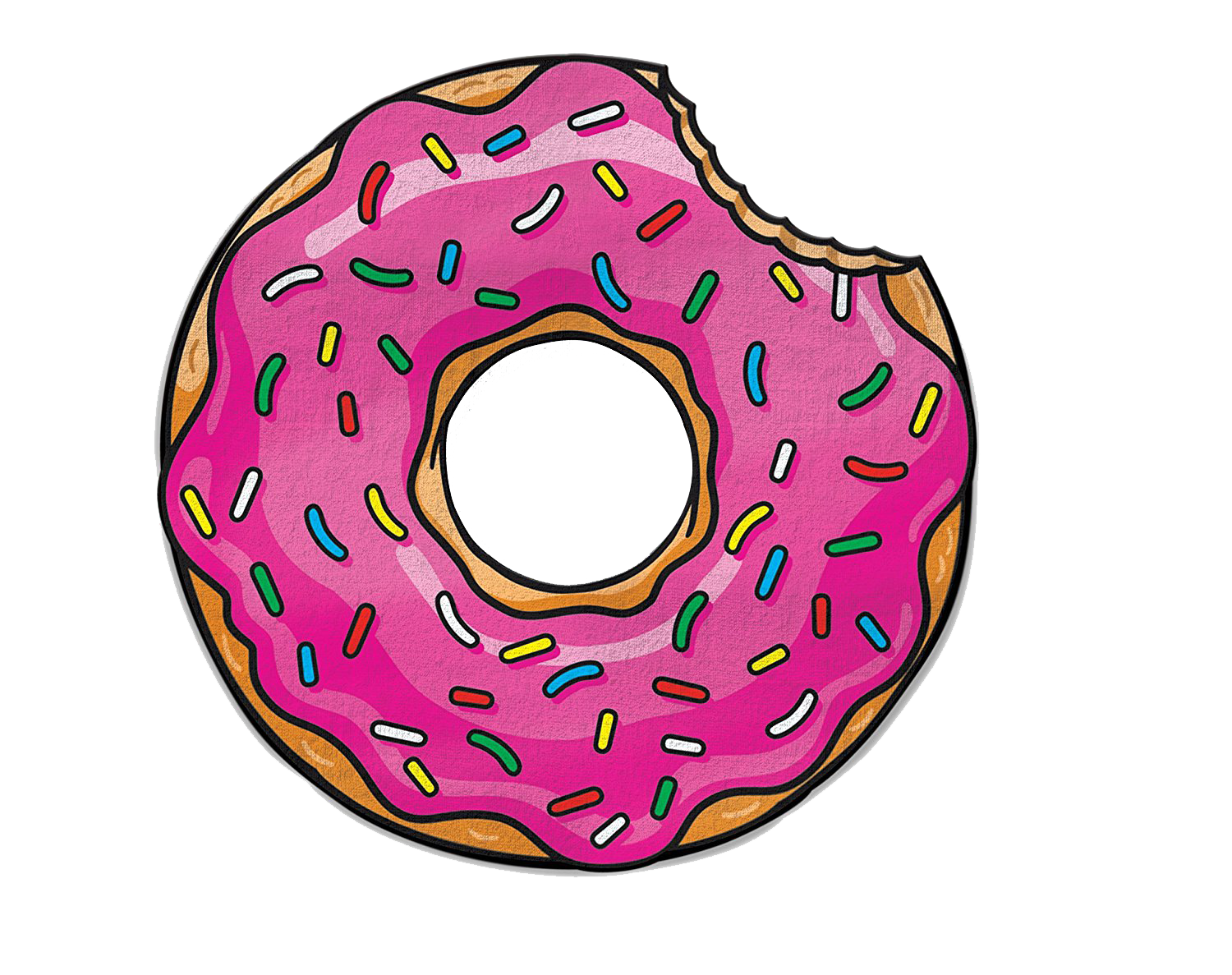 Donut PNG Free Pic.