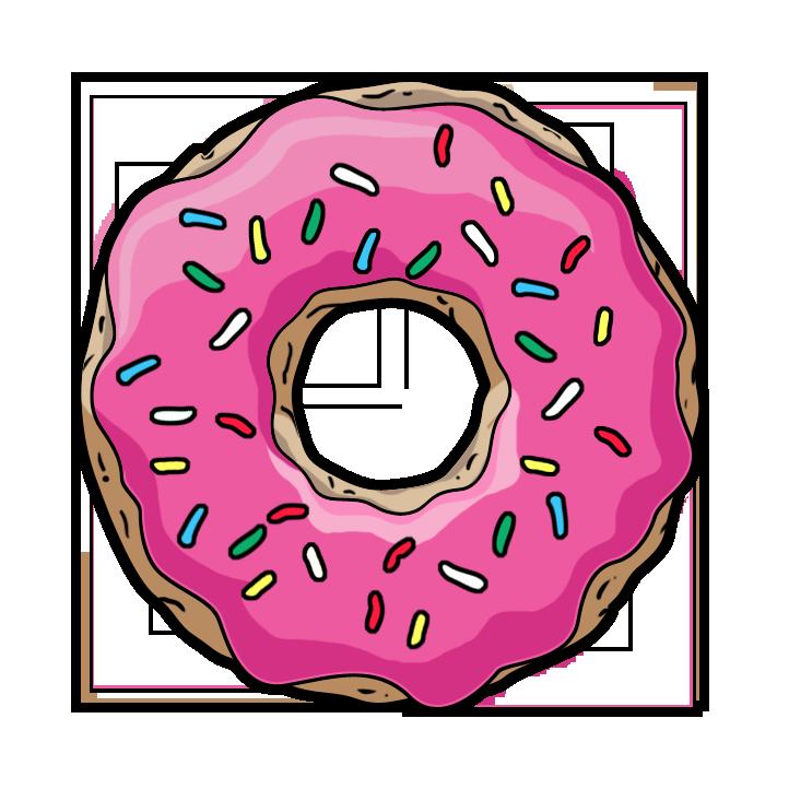 Doughnut PNG Images Transparent Free Download.