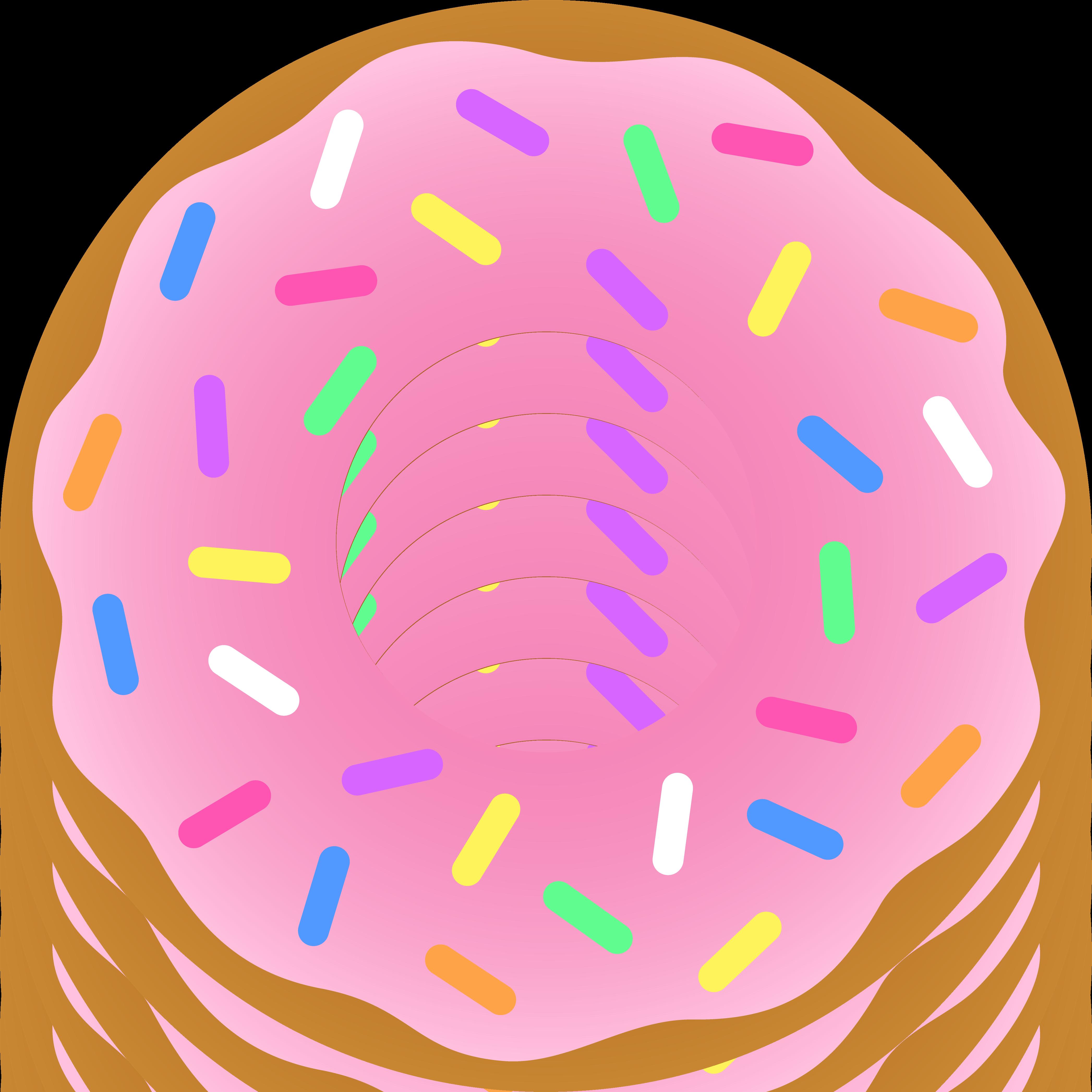 Coffee and doughnuts Clip art.