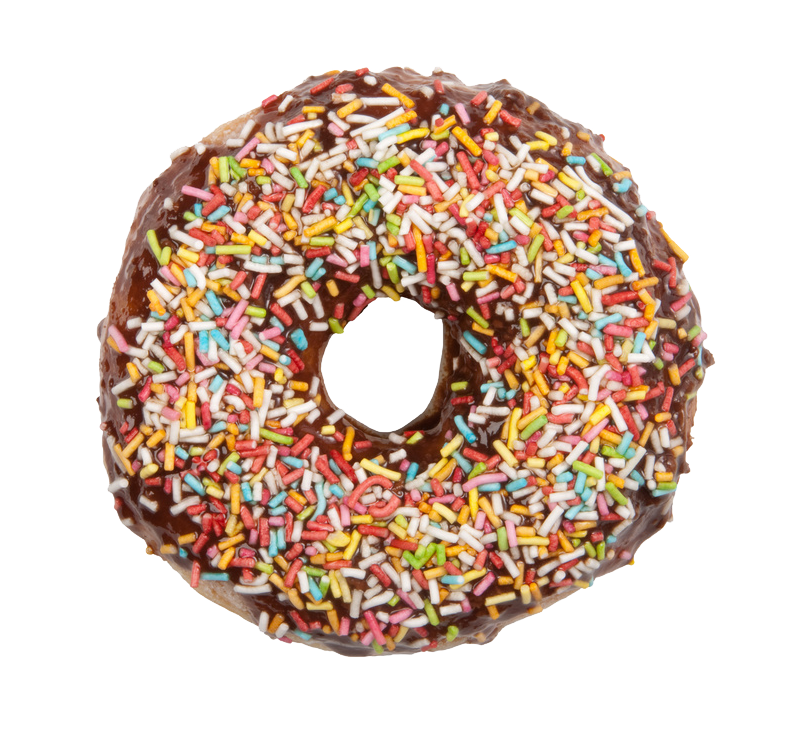 Donuts PNG Background Stock Images.