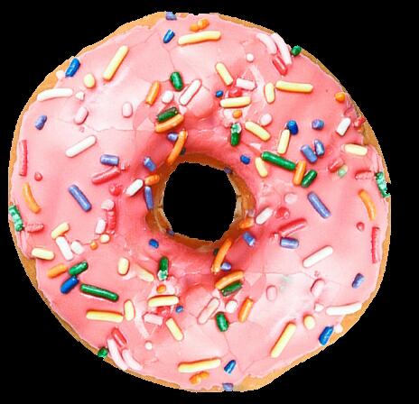 Donut PNG Images Transparent Background.