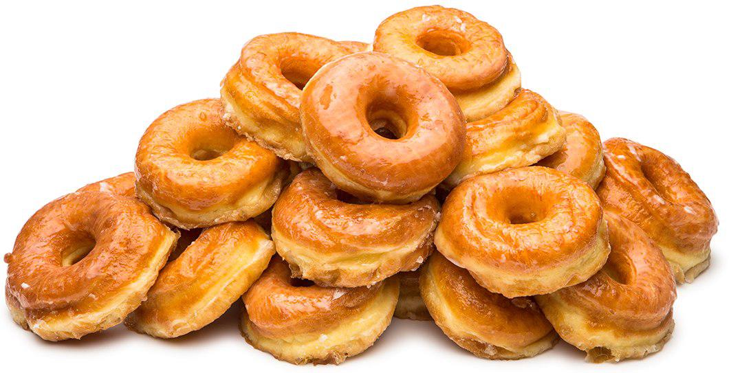 Donut PNG Transparent Image.