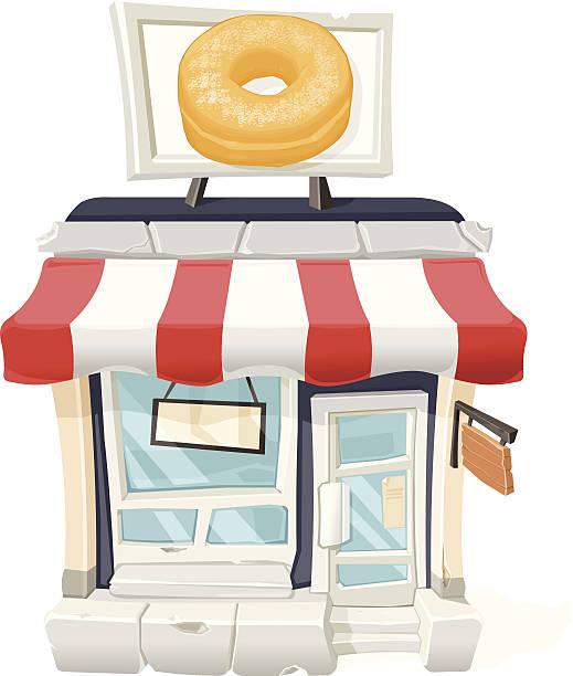 Doughnut Shop Clipart.
