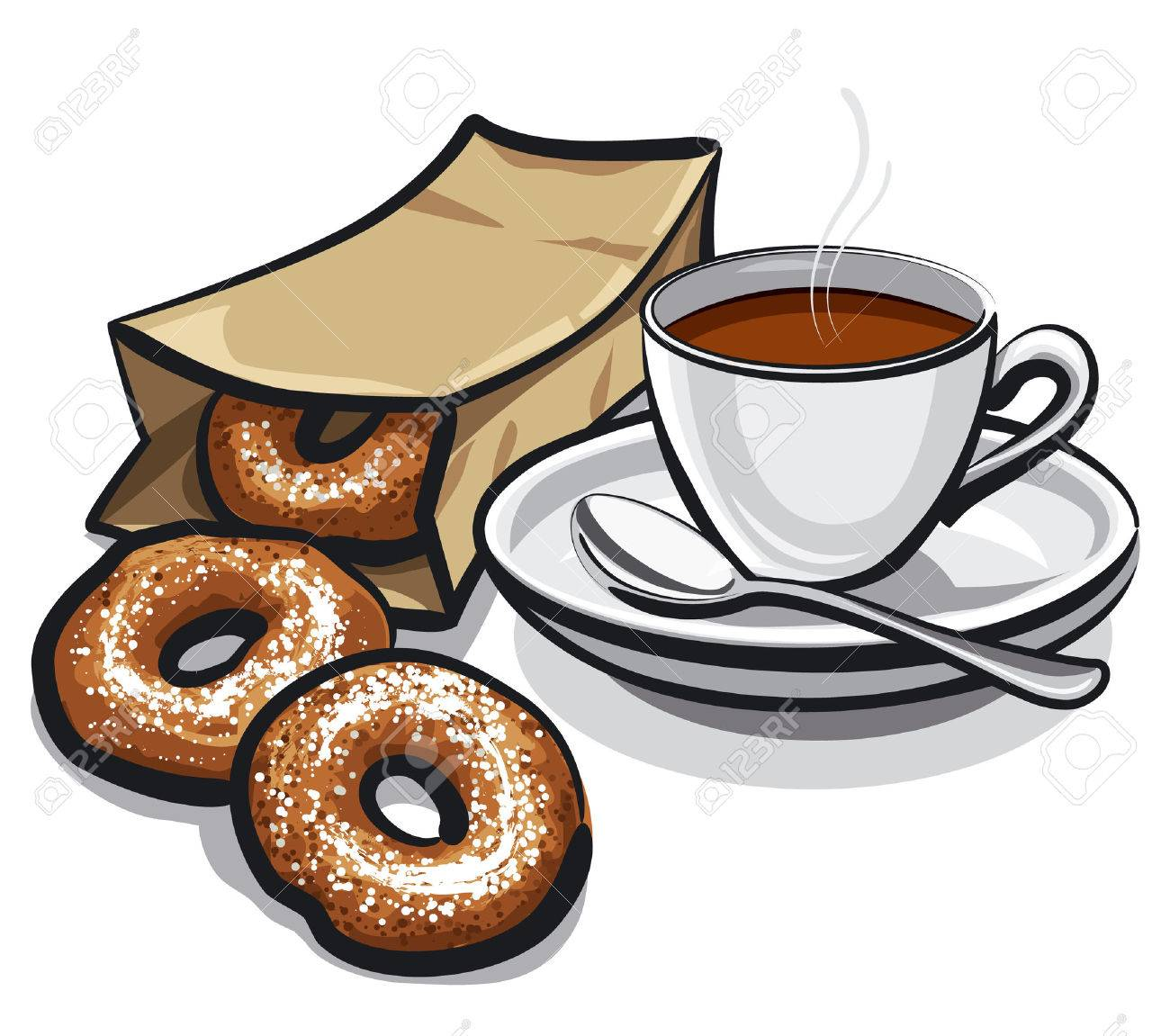 1366 Donuts free clipart.