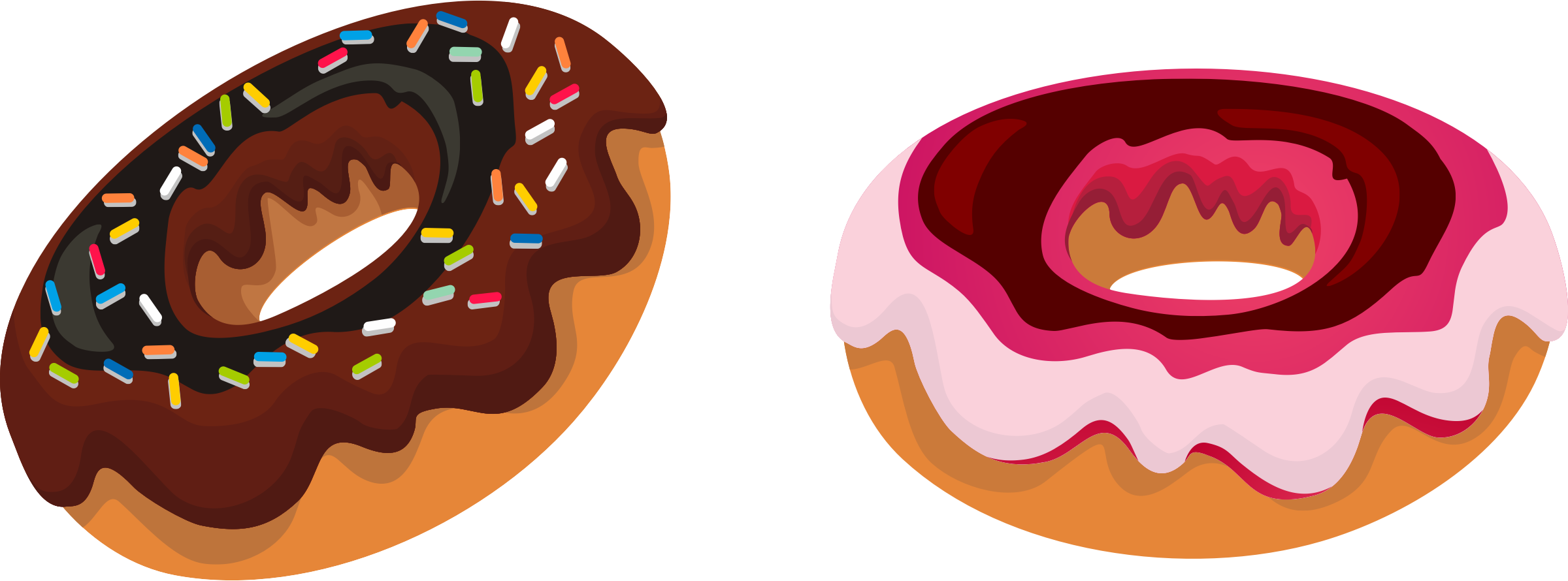 Coffee and donuts clipart free images.