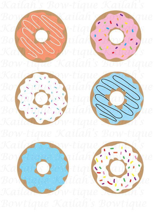 Of donuts clipart.