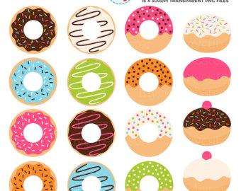 Donut clip art.