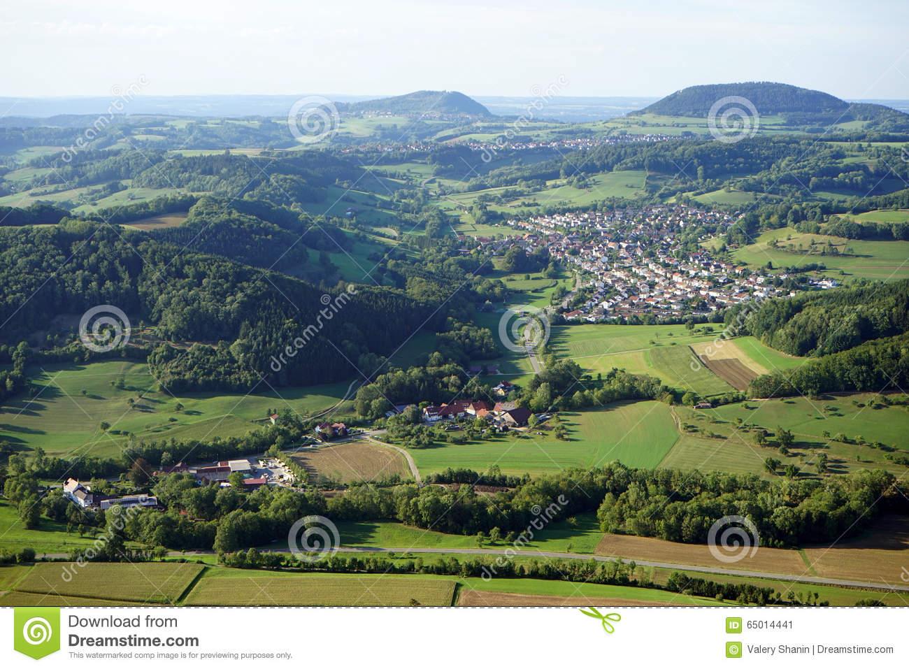 Donzdorf Town Stock Photo.
