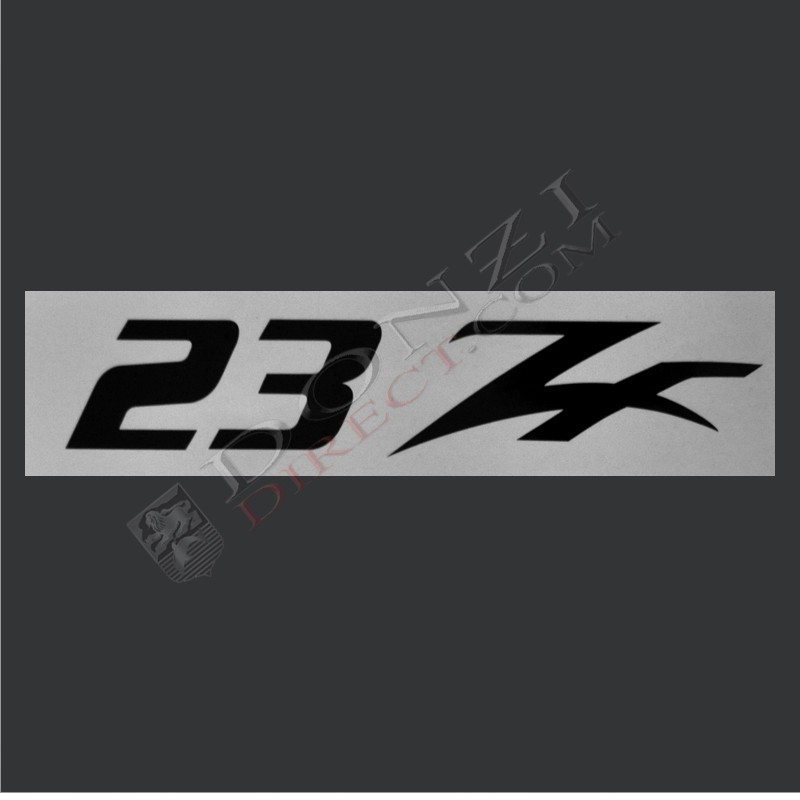Donzi 23 ZF Console Decal Logo (Original Style).