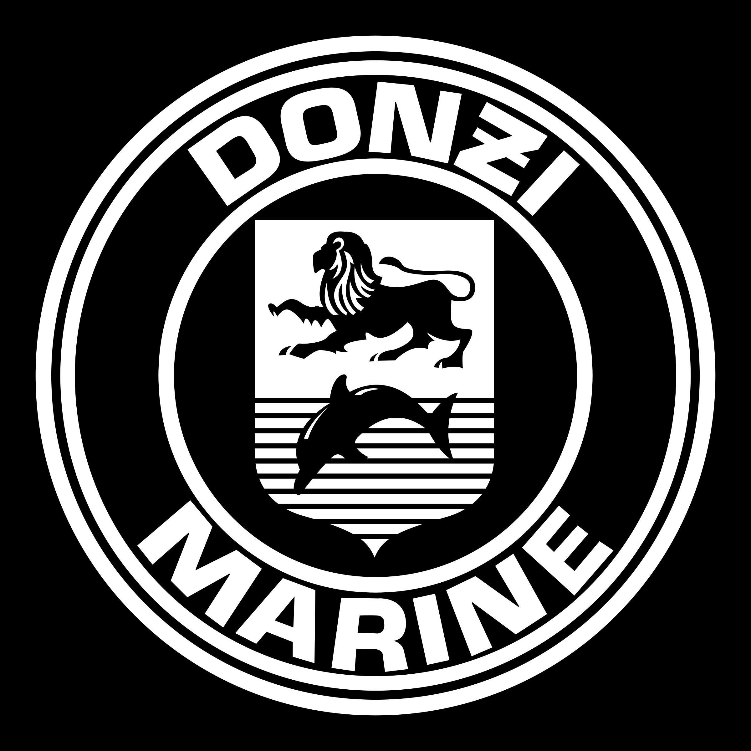 Donzi Marine Logo PNG Transparent & SVG Vector.