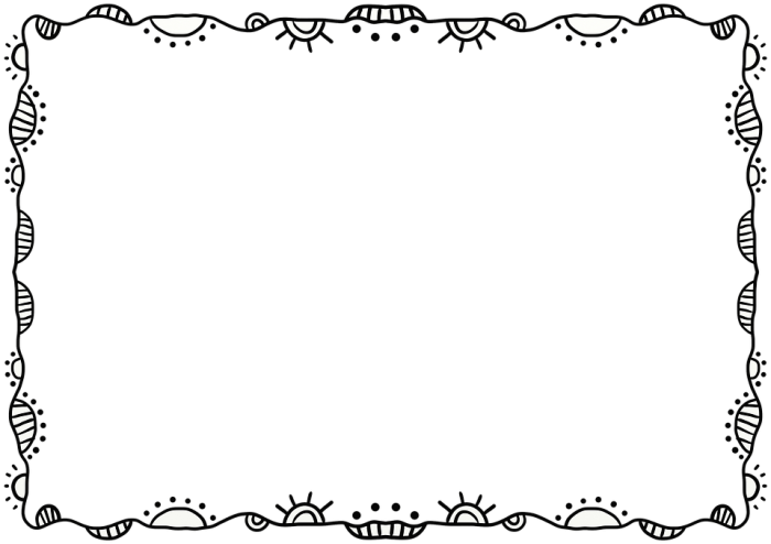 HD Artistic Frame Png.