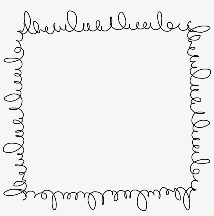 Cute Doodle Frame Png.