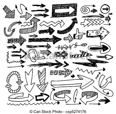 Arrow Doodles.