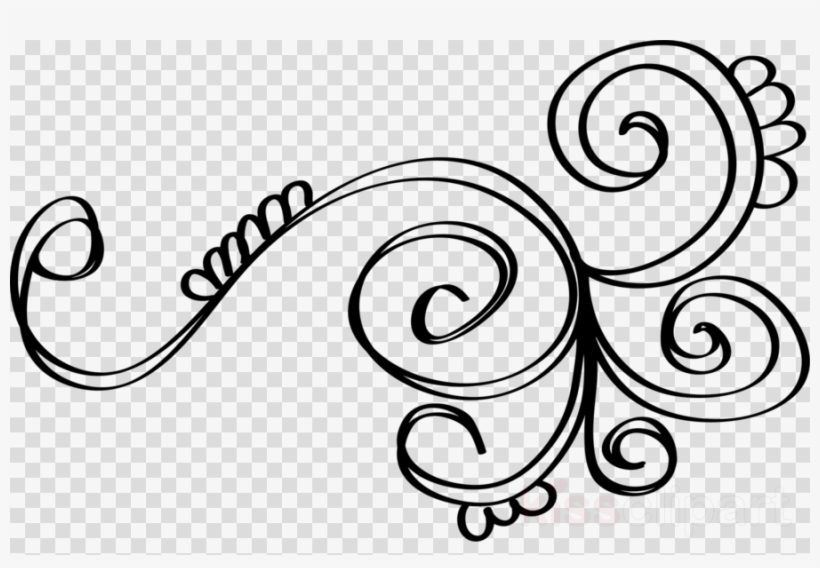 Download Swirl Doodle Png Clipart Design Coloring Book.