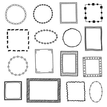 101,622 Doodle Frame Cliparts, Stock Vector And Royalty Free Doodle.