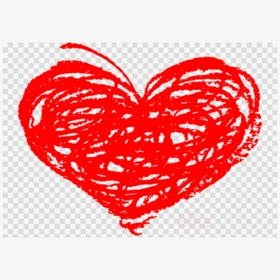Clipart Hearts Scribble.