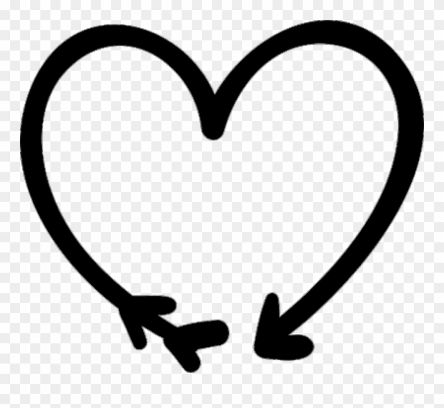 Heart Doodle Png Clipart (#977089).