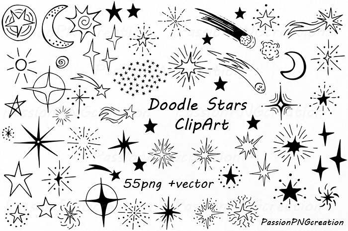 Doodle clipart 3 » Clipart Station.