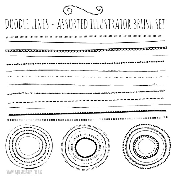 Free Illustrator Brushes.