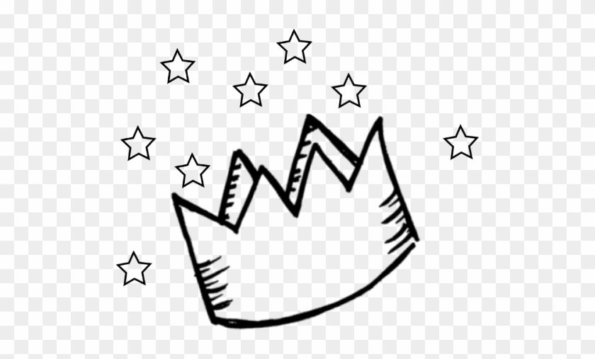 Drawn Crown Picsart Png.
