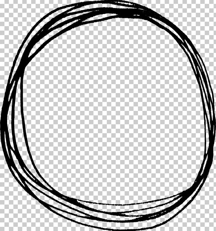 Circle Drawing Doodle PNG, Clipart, Black And White, Body Jewelry.