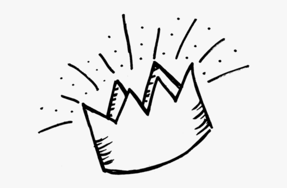 Free Crown Clipart Black White.