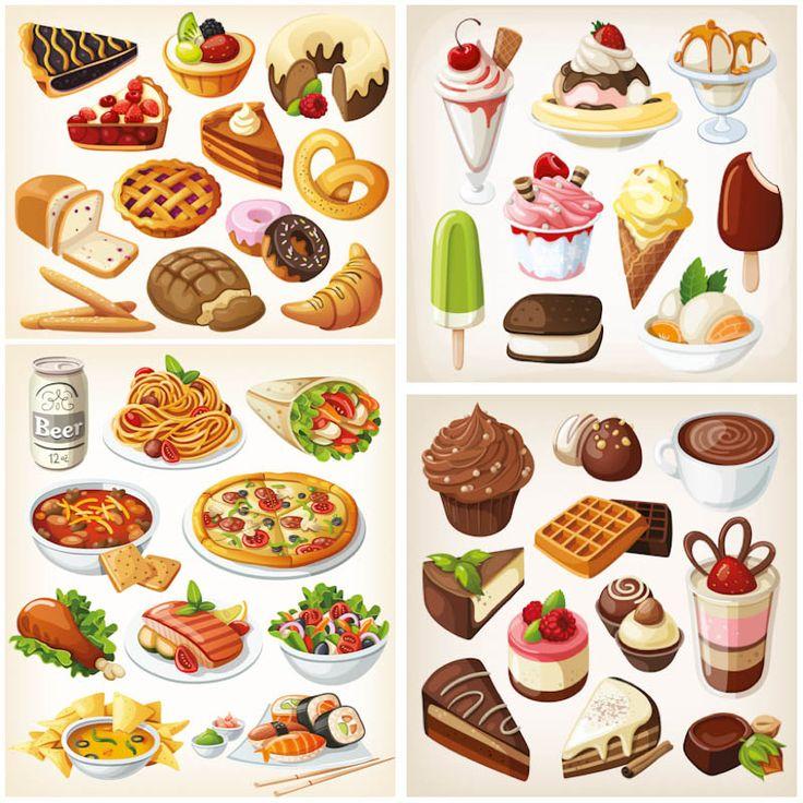 1000+ images about Desserts illustration on Pinterest.