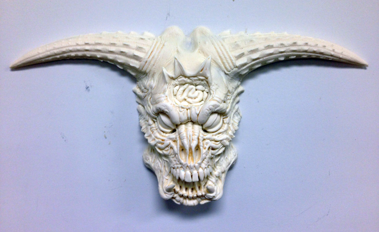 DOOM Icon of Sin Demon resin casting UNPAINTED.