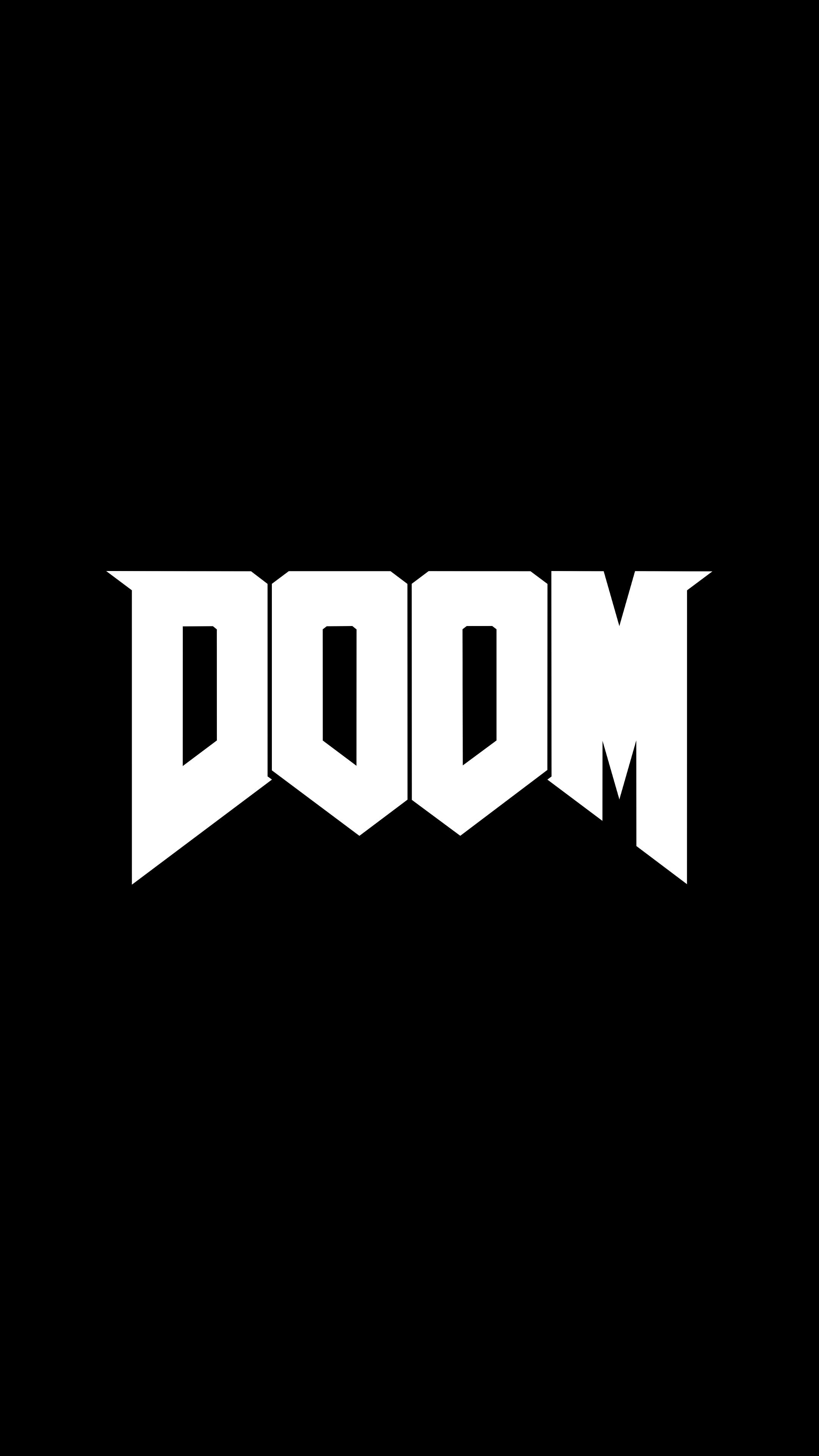 Doom 2016 logo.