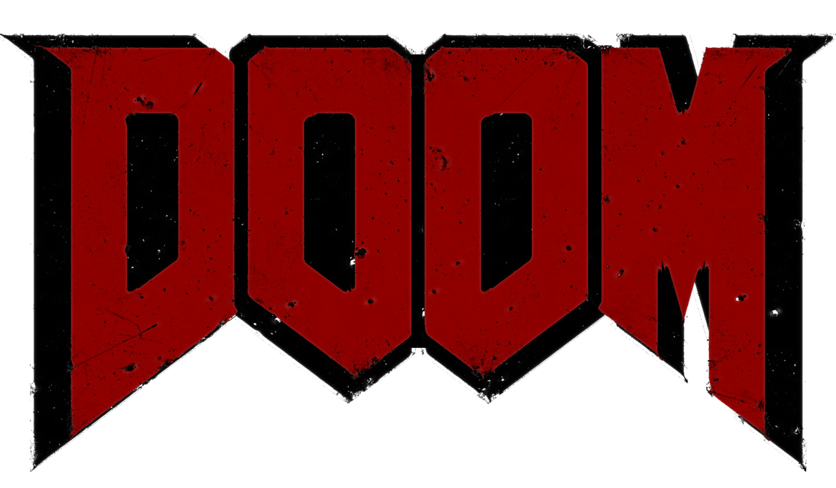 Doom 3 Logo Video game.