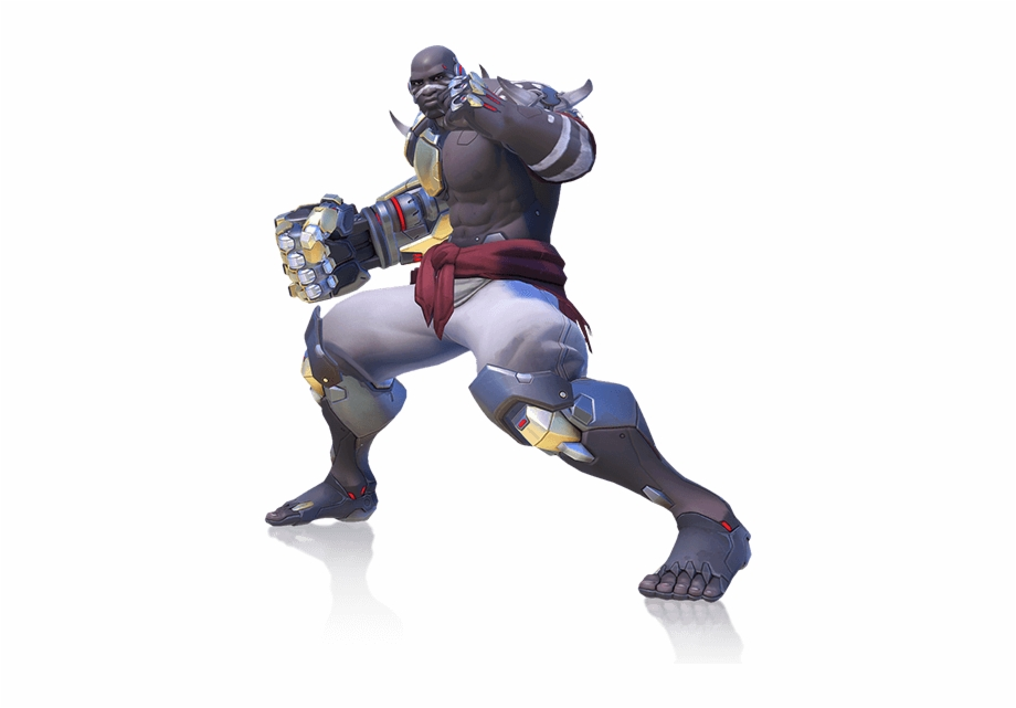 Full Hero Image Of Doomfist.