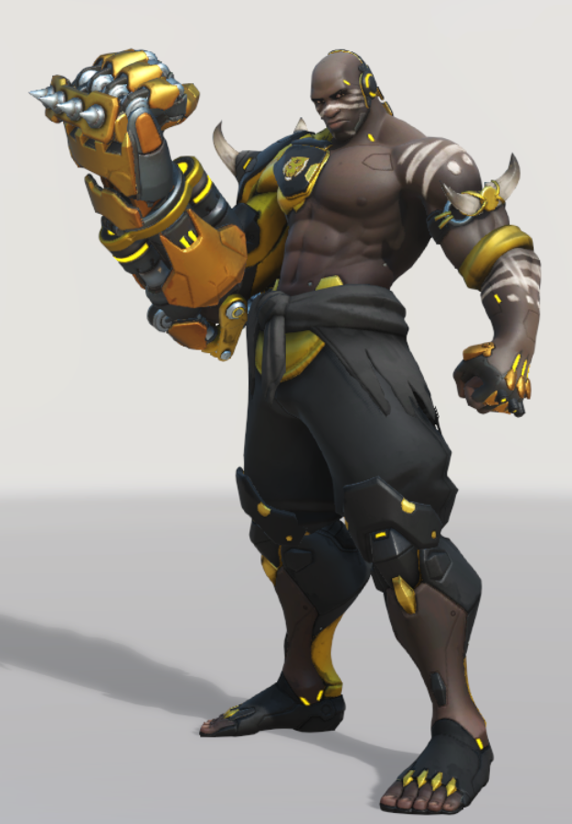 Dynasty skins are really cool But Golden Doomfist Dynasty is next.