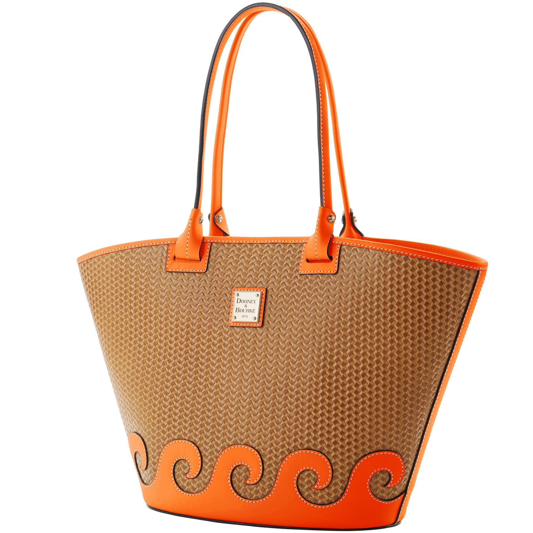 Details about Dooney & Bourke Beacon Woven Large Atlantic Tote.