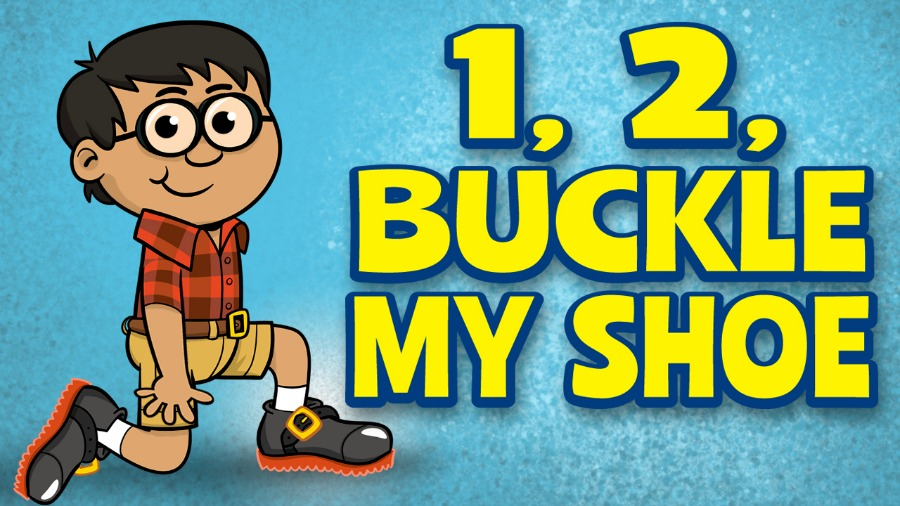 Buckle My Shoe Clipart.